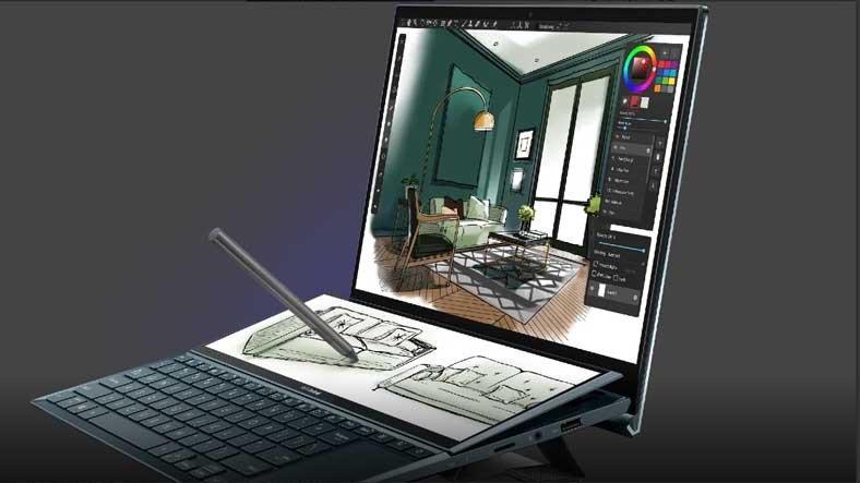 ASUS, Fiyatlarıyla Çok Konuşulacak Çift Ekranlı Dizüstü Bilgisayarları Zenbook Duo 14 ve Pro Duo 15'i Duyurdu