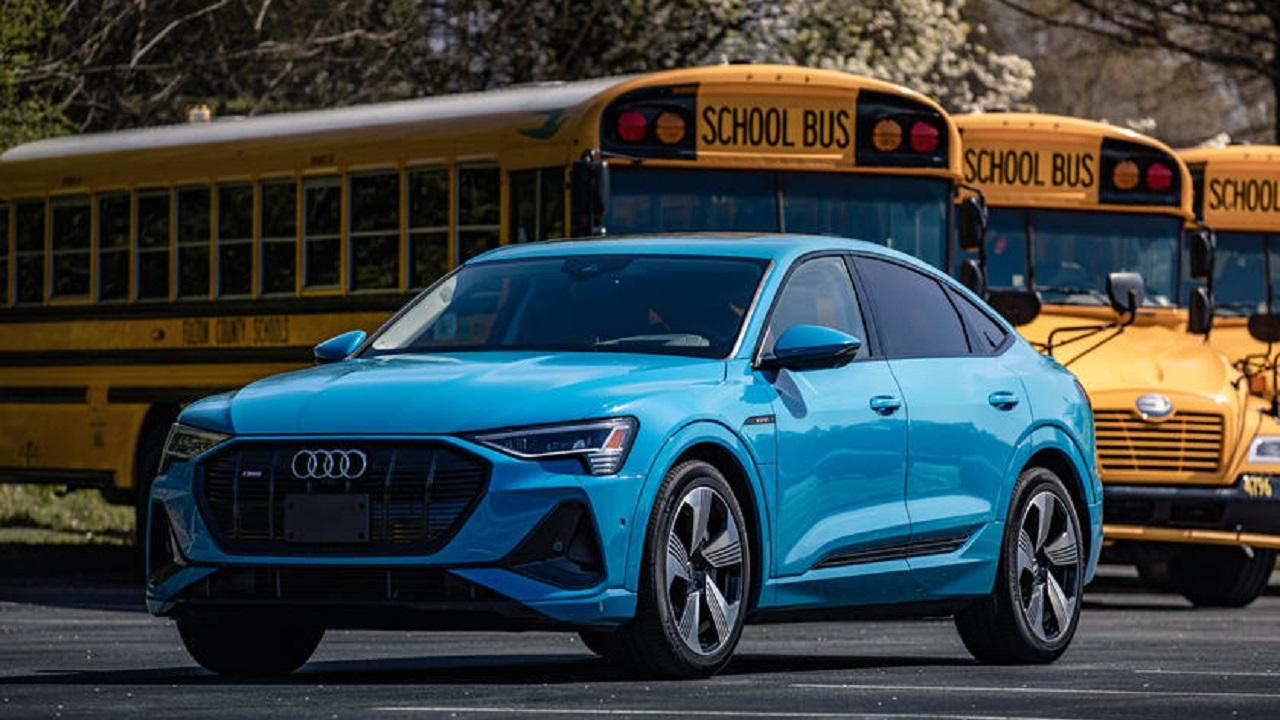 Audi E-Tron C-V2X teknolojisi