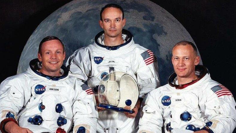Ay'a Giden 3 Kişilik Apollo 11 Ekibinde Yer Alan Michael Collins, Hayatını Kaybetti