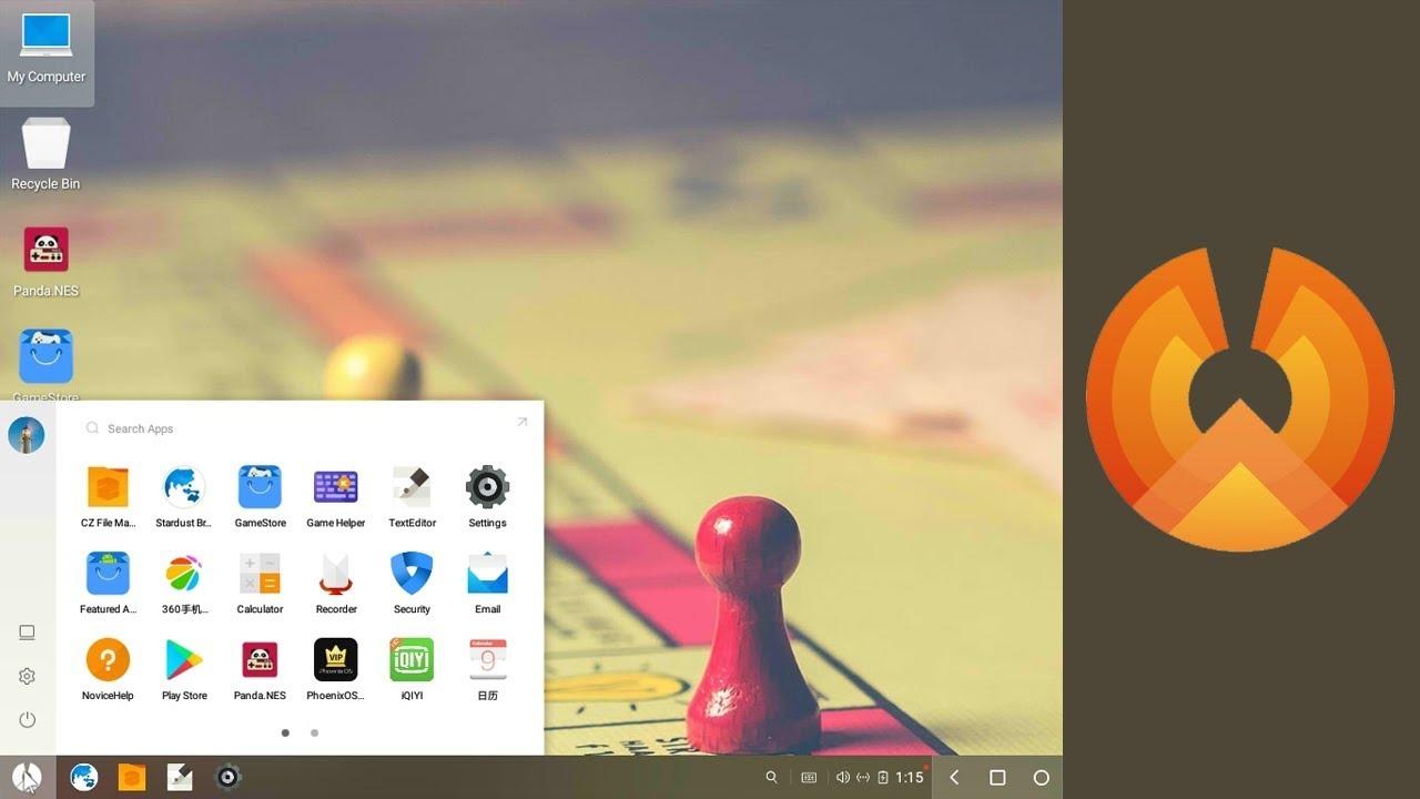 Phoenix OS sistem gereksinimleri