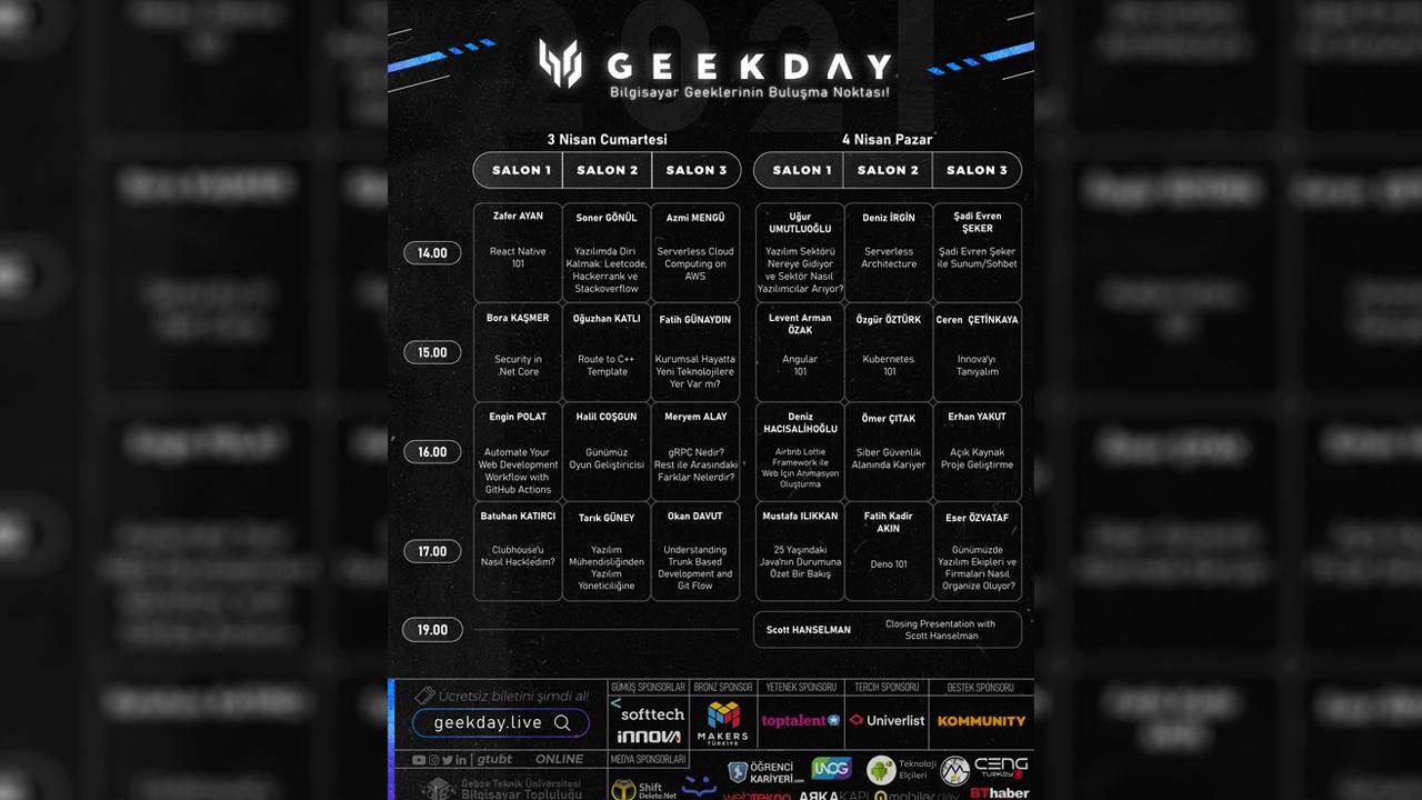 Geekday 2021
