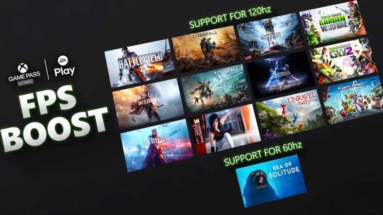Birbirinden Popüler 12 EA Oyunu, Xbox Series X/S'e Özel 120 FPS Desteği Aldı