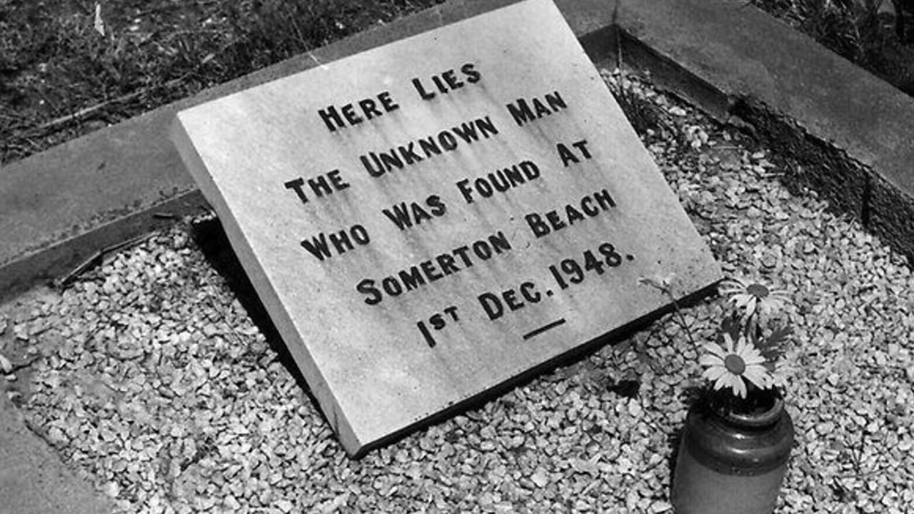 somerton adamı mezarı