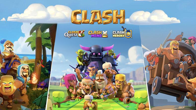 Clash of Clans'ın Geliştiricisi Supercell, Clash Evreninde Geçecek Üç Yeni Oyununu Duyurdu