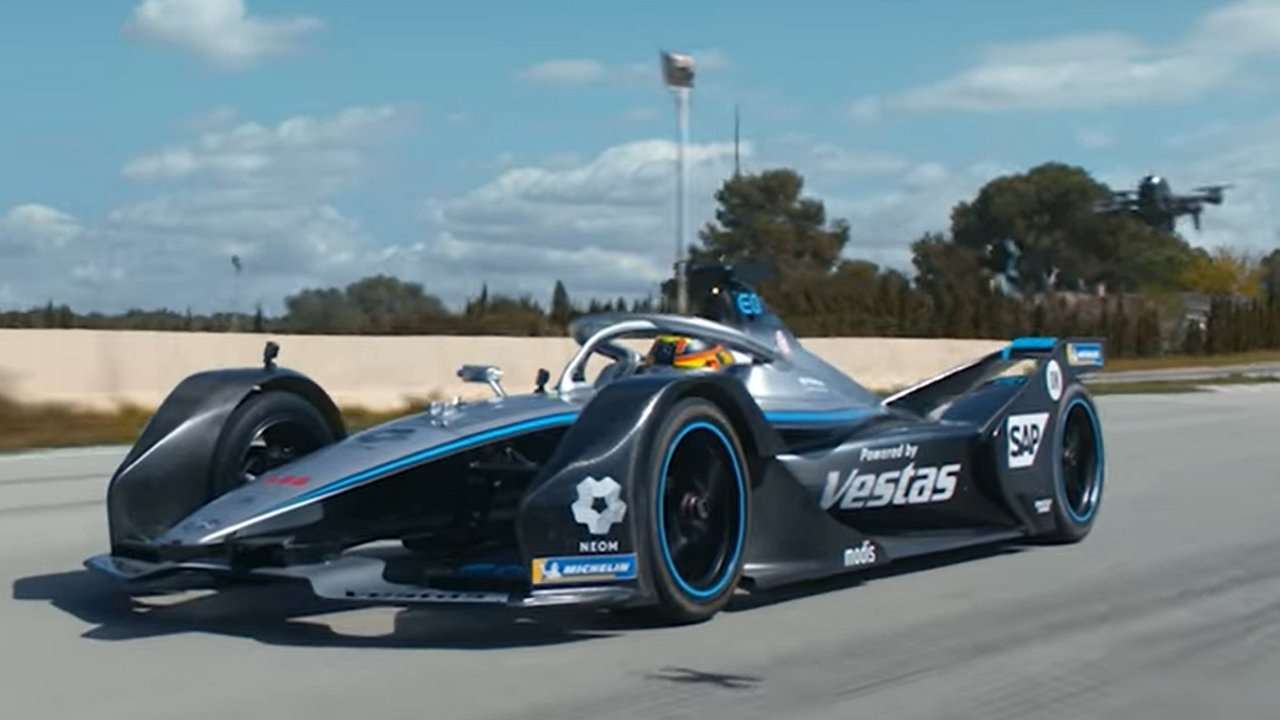 DJI FPV Mercedes-EQ Formula E