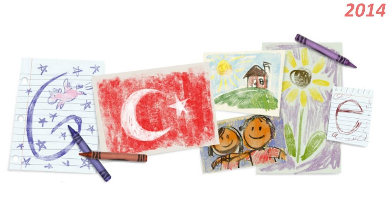 Google 23 Nisan Doodle 2014