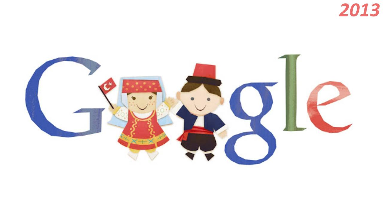 Google 23 Nisan Doodle 2013