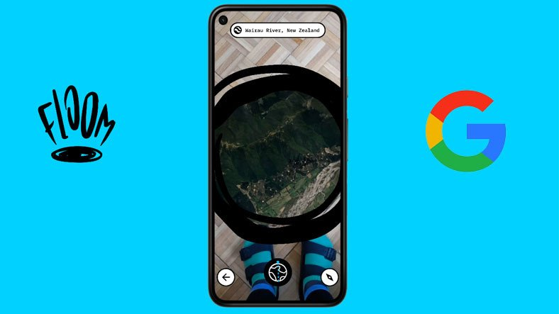 Google, Telefonu Yere Tutarak Dünyanın Diğer Ucunu Görebileceğiniz AR Hizmeti 'Floom'u Duyurdu