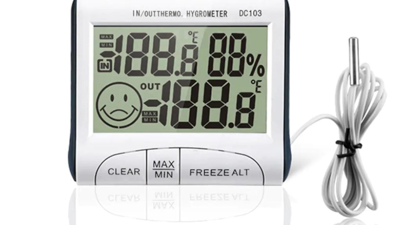 Life Net Medikal Dijital Termometre ve Nem Ölçer