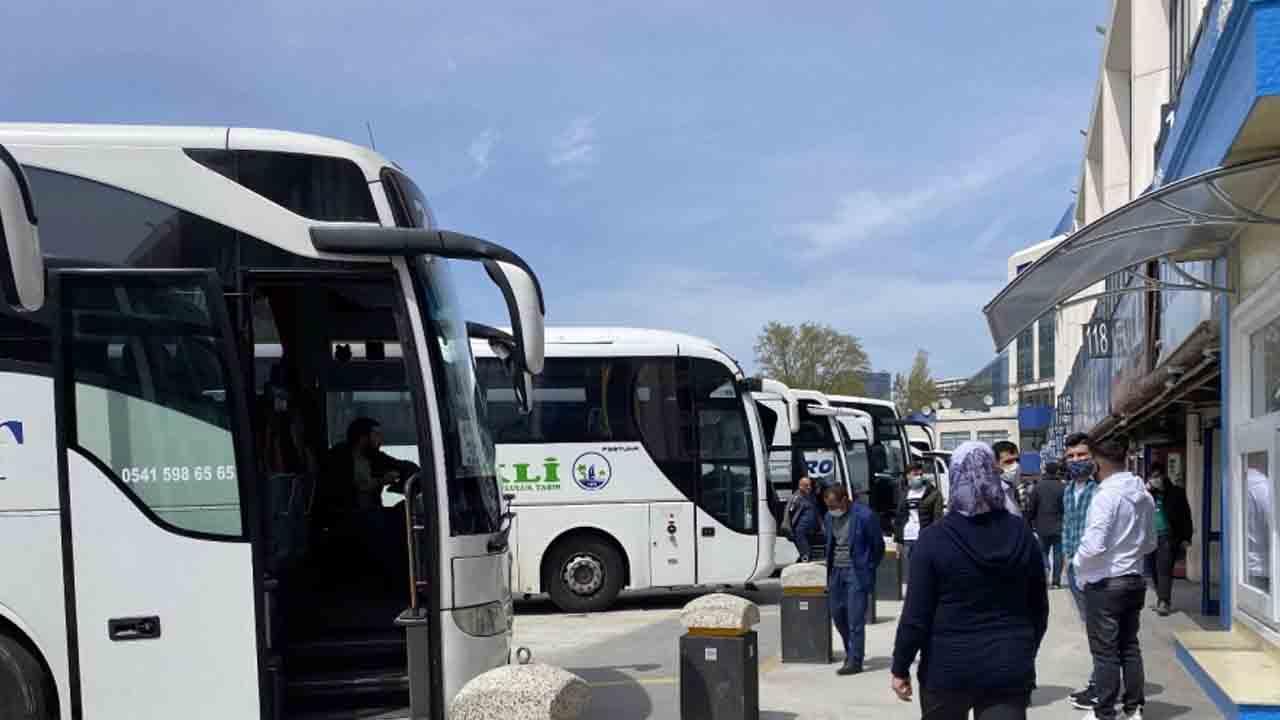 Şehirler arası otobüs yolculuğu