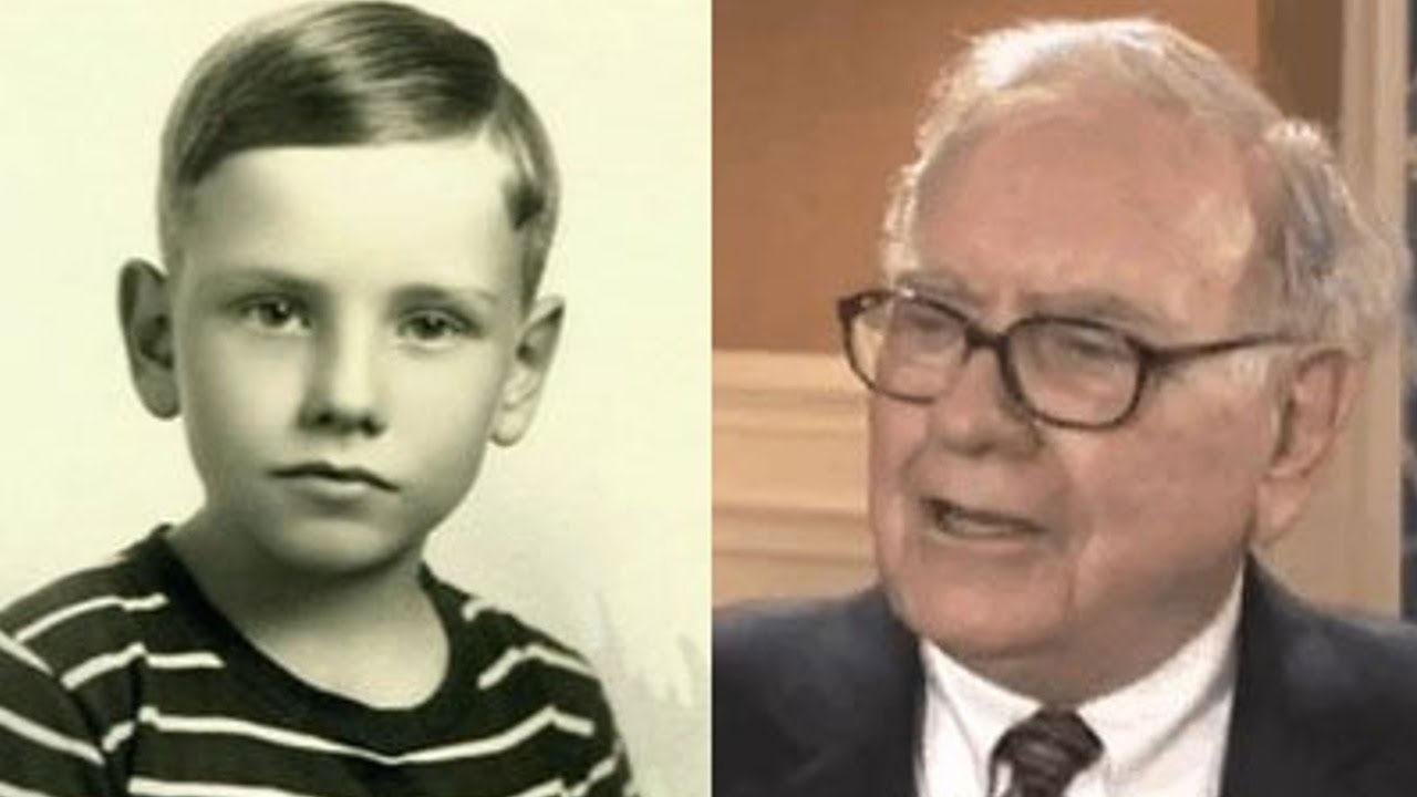 Warren Buffett çocukluk