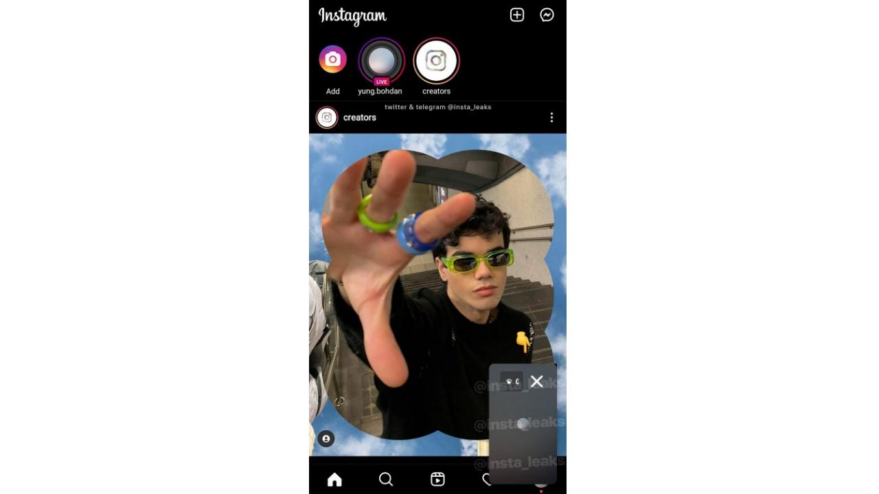 instagram canlı yayın test