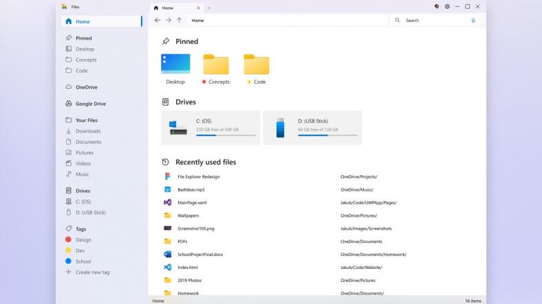 Microsoft Mühendislerini Bile Kıskandıracak Windows 10 Dosya Gezgini Konsepti