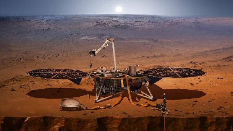 NASA'nın Mars'ın Yer Altını İncelediği 'InSight Görevi' Hakkında Tüm Detaylar