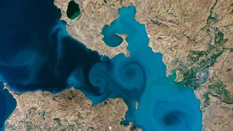Oy Veren Elleriniz Dert Görmesin: Van Gölü'nün Fotoğrafı, NASA'nın Yarışmasında Finale Yükseldi