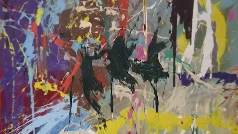 Sanat Galerisinde Dolaşan Çift, Yarım Milyon Dolarlık Tabloyu Yanlışlıkla Boyadı