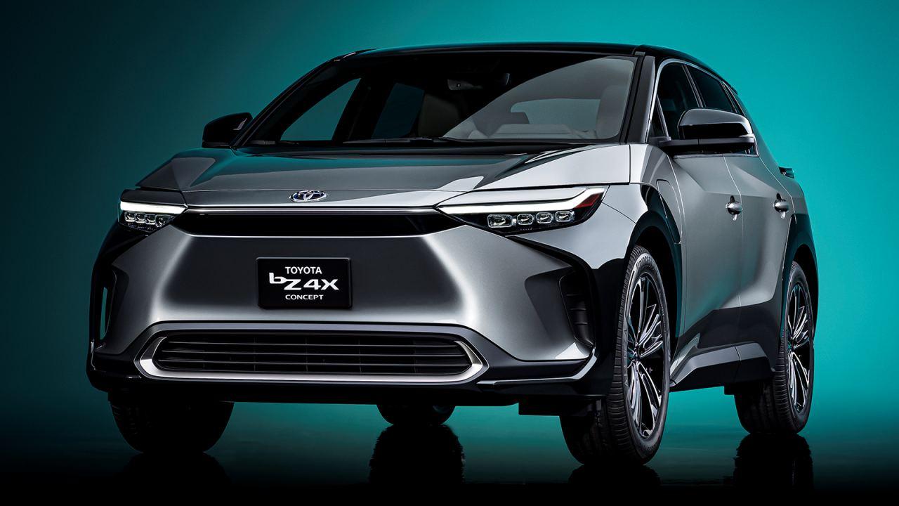 Toyota bZ4X ön