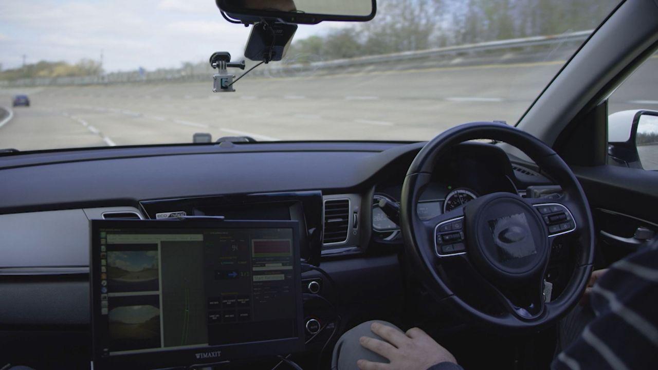 otonom araç iç mekan