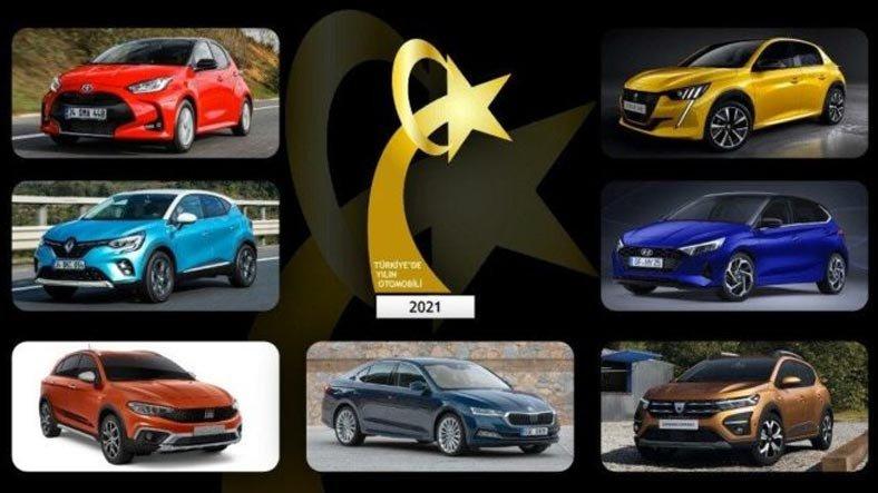 Türkiye'de Yılın Otomobili 2021 Yarışmasında Finale Kalan 7 Model Açıklandı