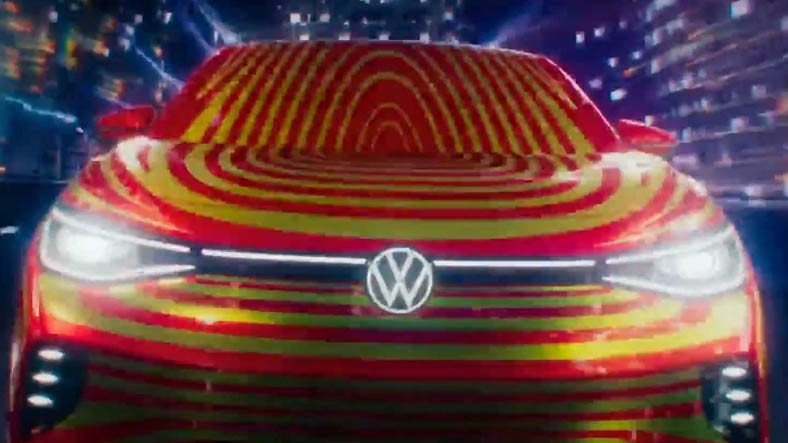 Volkswagen, ID.4'ün Kardeşi Olacak ID.5'in Tasarımını İlk Kez Gösterdi [Video]