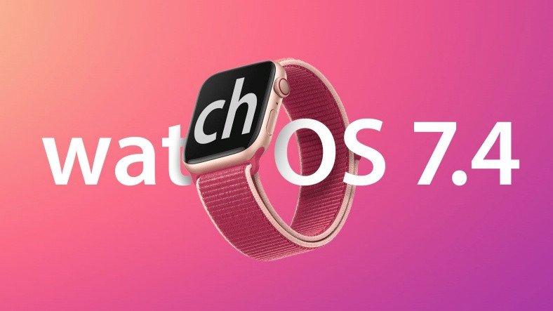 watchOS 7.4 Yayınlandı: Apple Watch Artık iPhone'ların Kilidini Açabiliyor