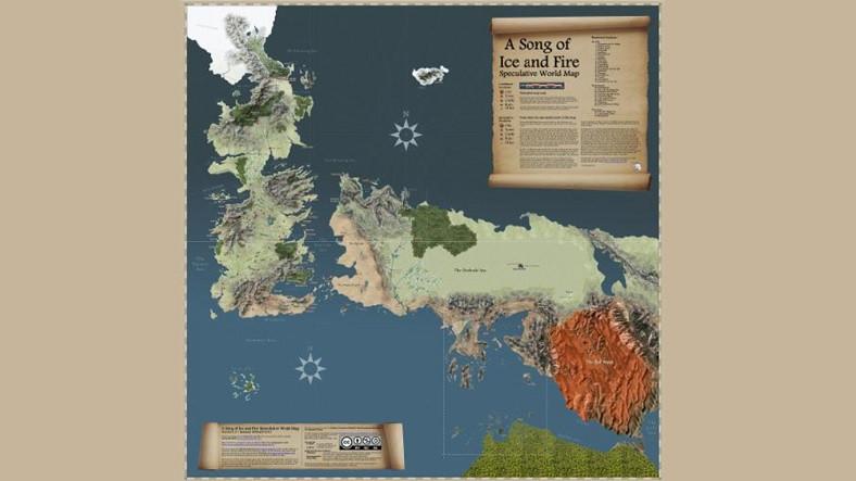 Westeros'u Unutamayanlara Gelsin: Game of Thrones'taki Tüm Olayları Harita Üzerinde Açıklayan İnternet Sitesi