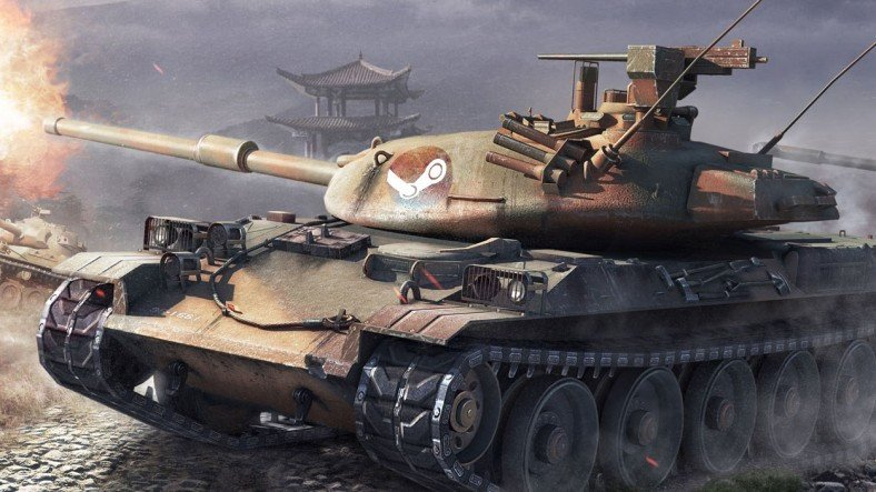 World of Tanks, Deneyimli Tankçılara Ateş Püskürten Bir Detay ile Steam'de Yayınlandı
