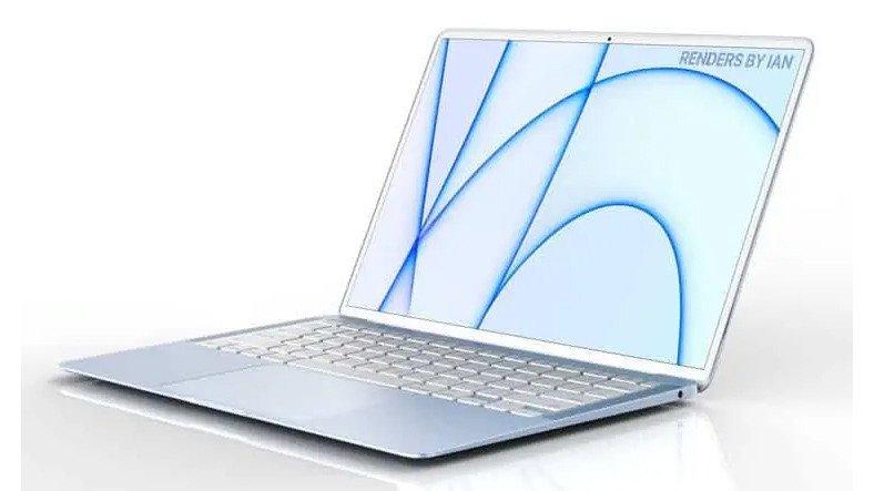 2021 MacBook'ların Nostaljik Renk Seçenekleriyle Geleceği İddia Edildi