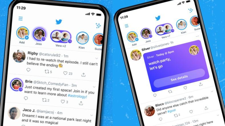 600 Takipçili Herkes Twitter Spaces'ta Oda Oluşturabilecek (Biletli Spaces Yayınları Yolda)