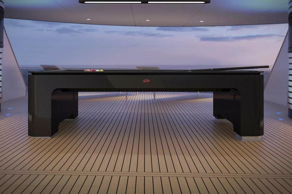 Bugatti bilardo masası 2
