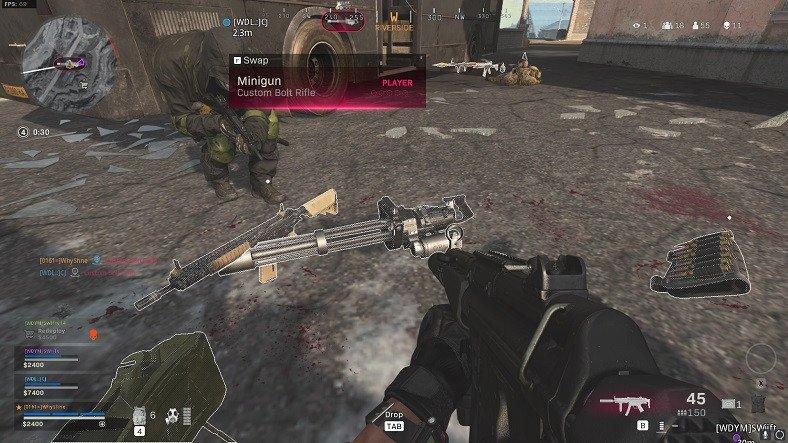 Call of Duty: Warzone'da Minigun'ı Geri Getiren Bir Hata Düzeltildi