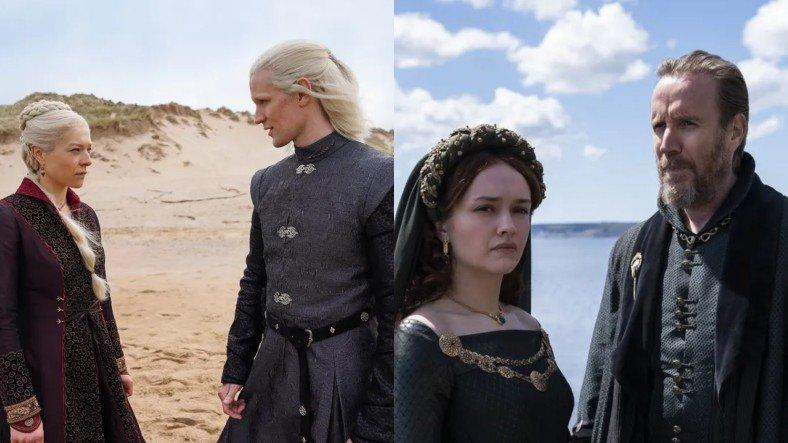Game of Thrones Evreninde Geçecek House of the Dragon Dizisinden İlk Fotoğraflar Paylaşıldı