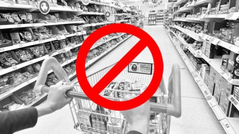 İçişleri Bakanlığı, Marketlerde Temel İhtiyaçlar Dışında Ürün Satışını Yasakladı