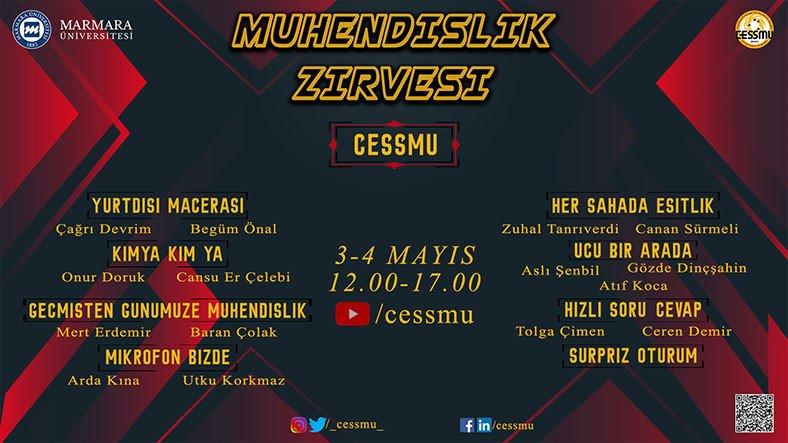 Marmara Üniversitesi Kimya Mühendisliği Kulübü'nün Düzenlediği Mühendislik Zirvesi Başladı