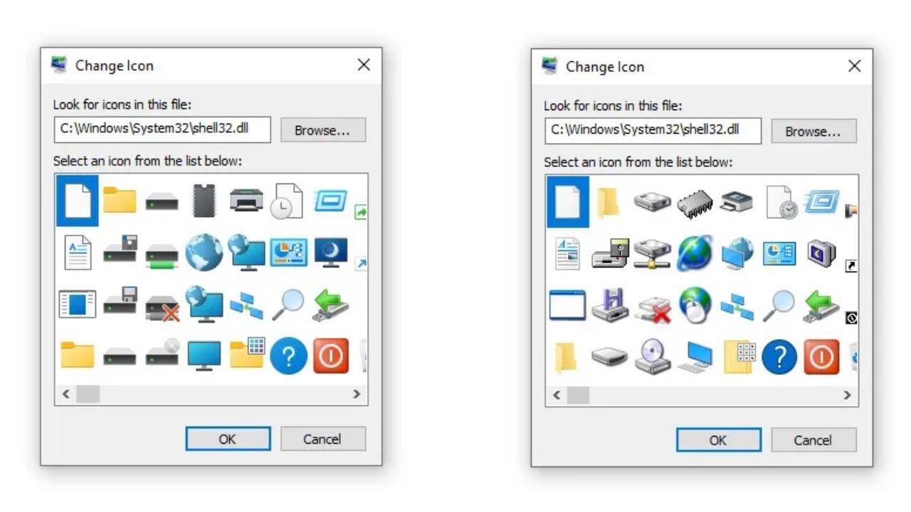 windows ikonlar
