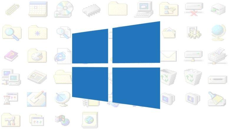 Microsoft, Windows 95'ten Kalma Uygulama Simgelerini Nihayet Güncelliyor