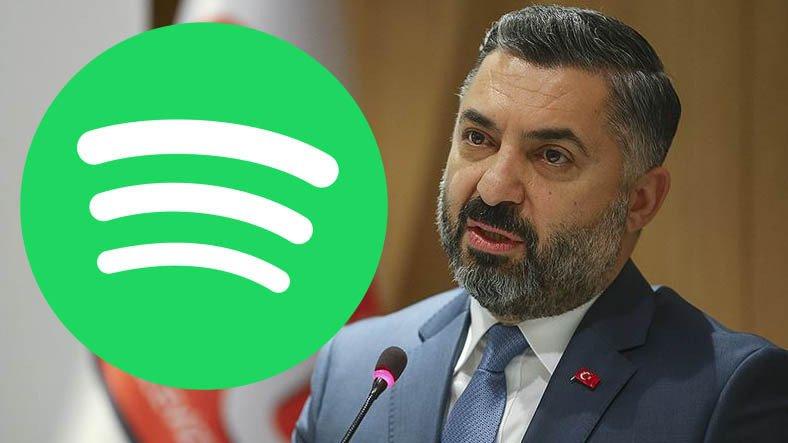 RTÜK Başkanı, Lisans Alan Spotify'a İlk Günden 'Ayarı' Verdi: Yasalarımıza Uymak Zorundalar