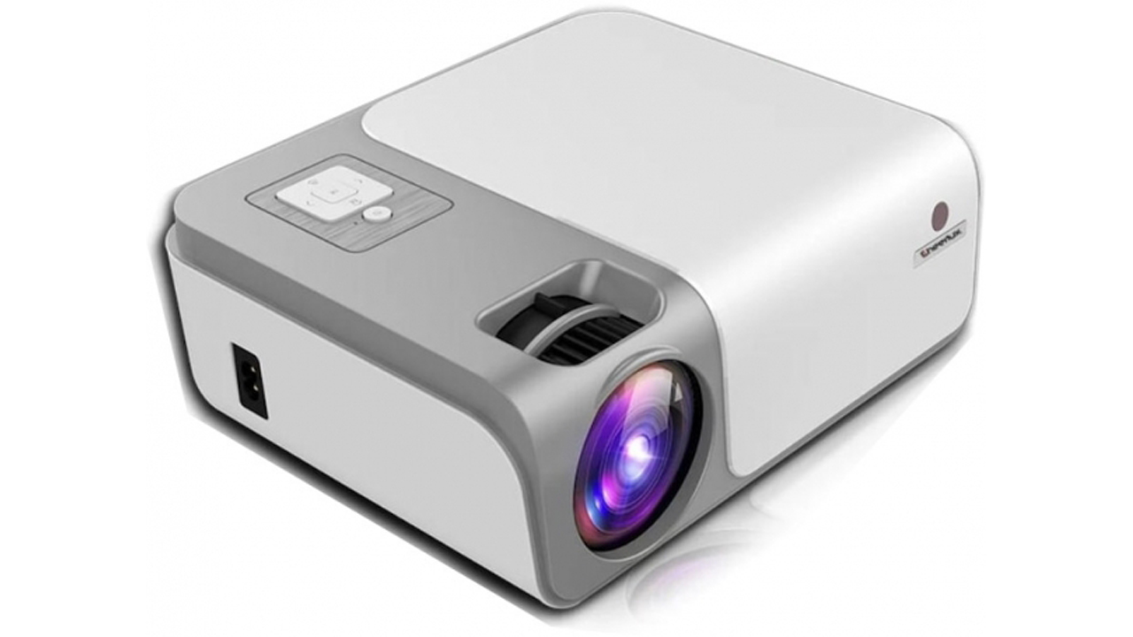 Cheerlux C50 Full HD 4K 1080 x 2160 4500 lümen projeksiyon cihazı