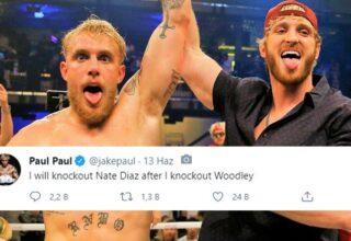 Jake Paul, Bu Sefer Karma Dövüş Sanatçısı Nate Diaz'a Meydan Okudu: Seni Nakavt Edeceğim