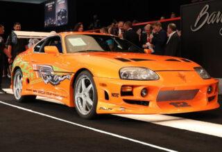 Paul Walker'ın 'Hızlı ve Öfkeli'de Kullandığı Toyota Supra, Tam 550 Bin Dolara Satıldı