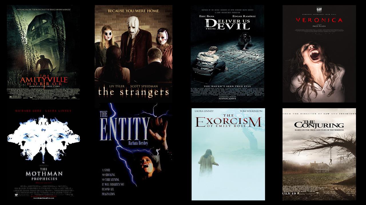 yaşanmış olaylardan esinlenen en iyi korku filmleri