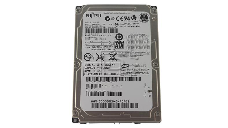 Fujitsu HD SATA 500GB