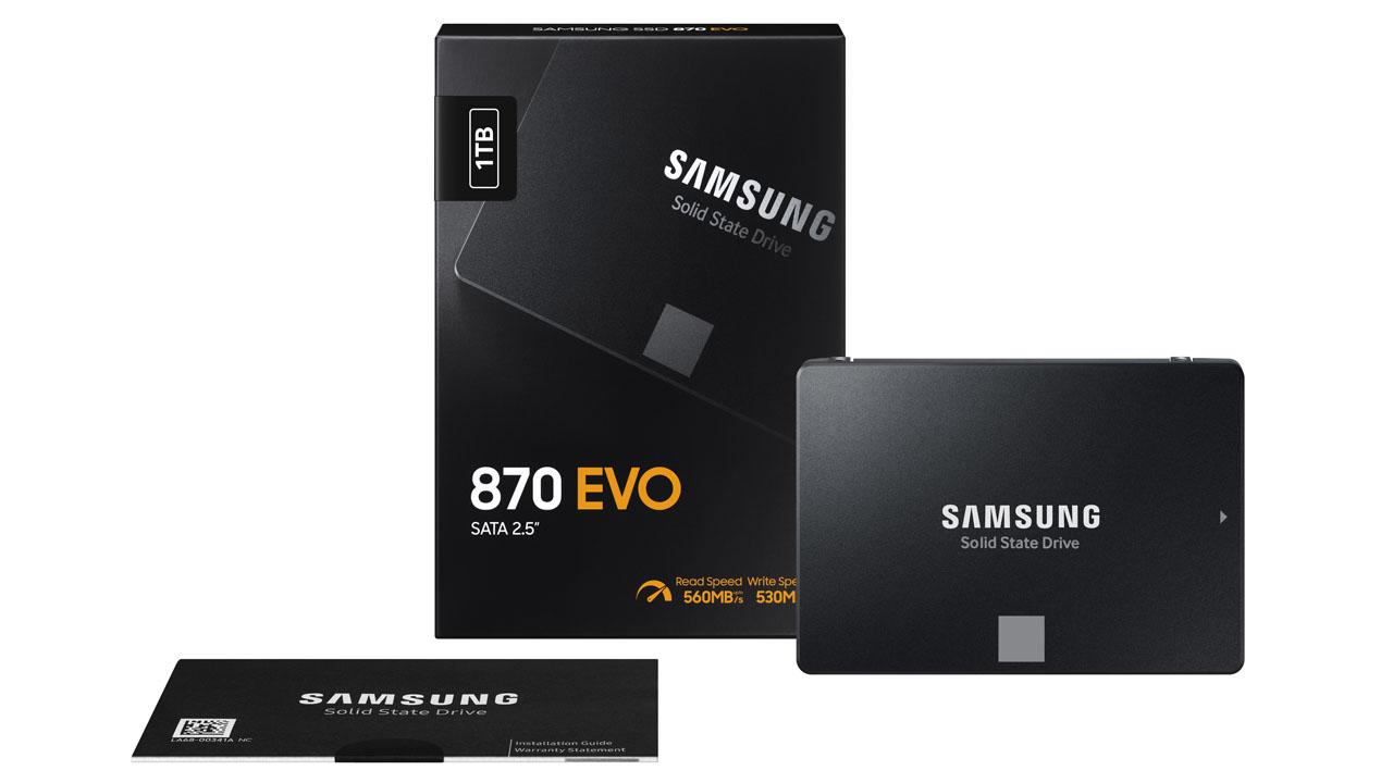 Samsung 870 EVO 500 GB SSD