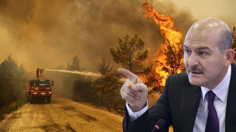 İçişleri Bakanı'ndan Sosyal Medyadaki Eleştirilere Tepki: Yangını Elimle Söndürecek Halim Yok