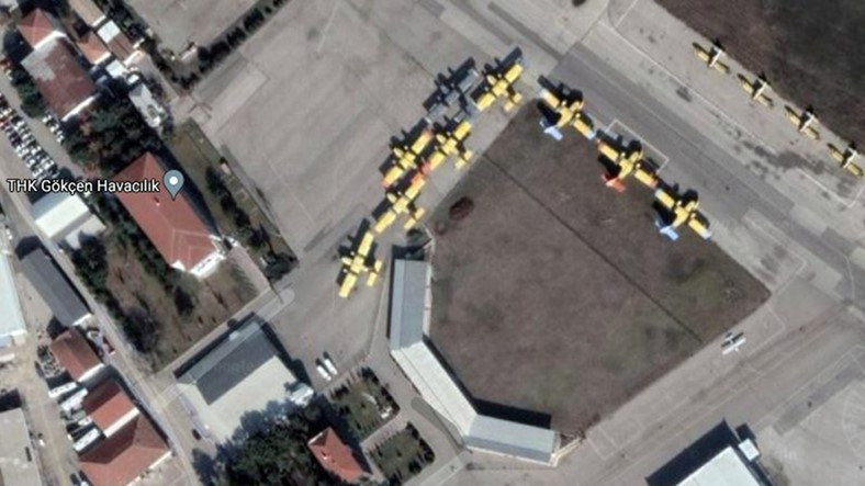 İhale Dışı Bırakılan Yangın Söndürme Uçaklarımızın Kuzu Kuzu Yattığı Uydu Görüntüleri
