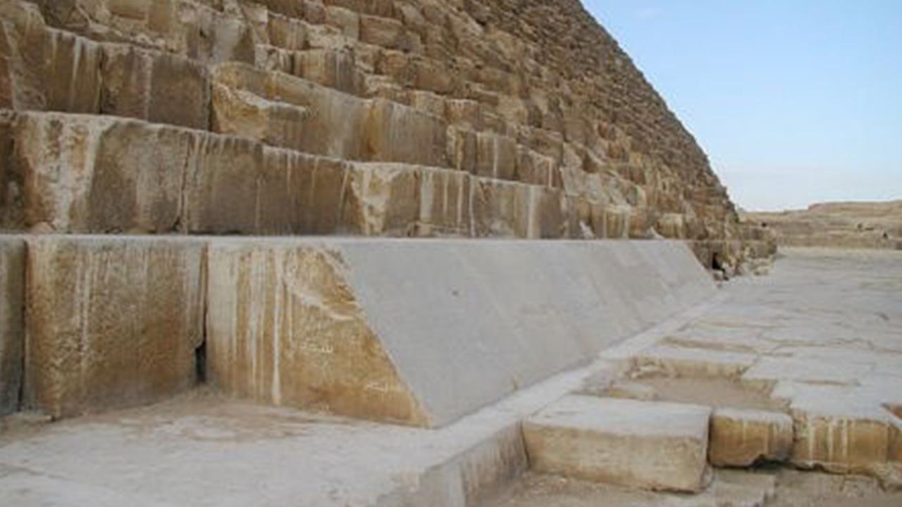 Gize piramitleri tasarım