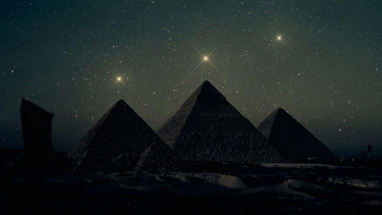 Gize piramitleri Orion takımyıldızı