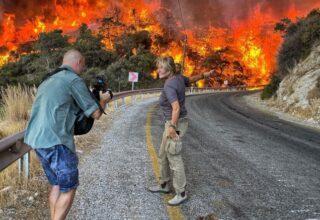 Uluslararası Haber Kuruluşunun Muhabirinden Yangın Gözlemi: Topluca Hissedilen Bir Çaresizlik Var