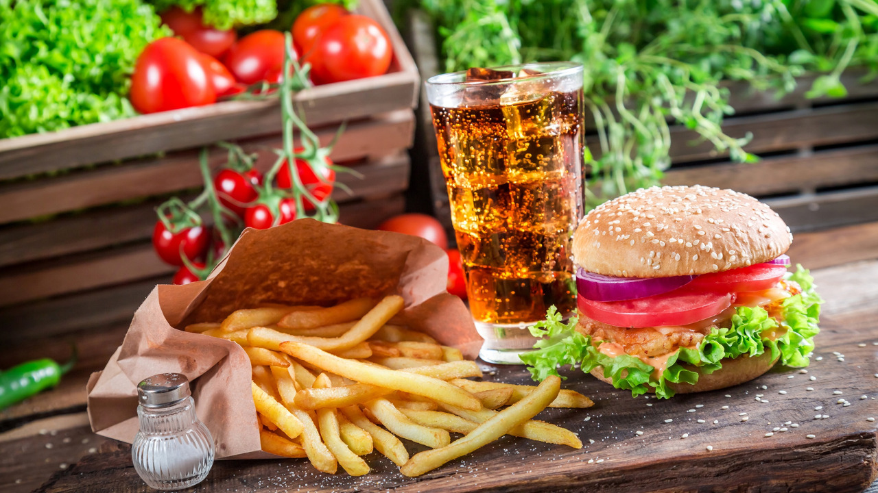 fast food, kalori