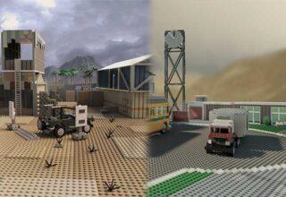 Akıllara Kazınan Call of Duty Haritaları, LEGO'larla Yeniden İnşa Edildi